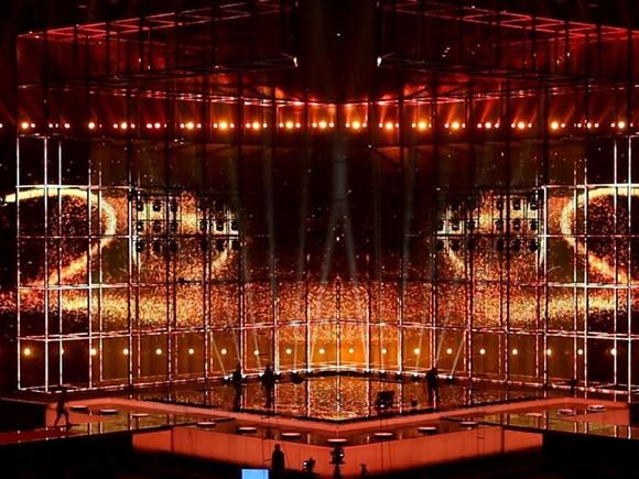 Eurovision Stage. Photo : DR Nanna Teckemeier