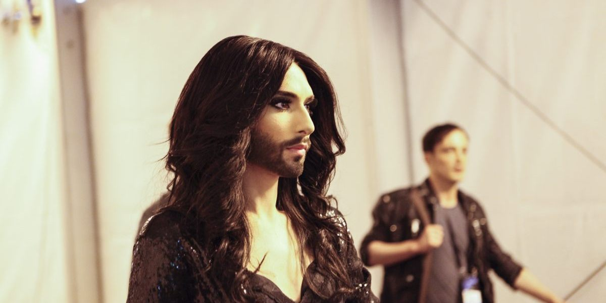 Conchita Wurst. Photograph : Thomas Hanses (EBU)