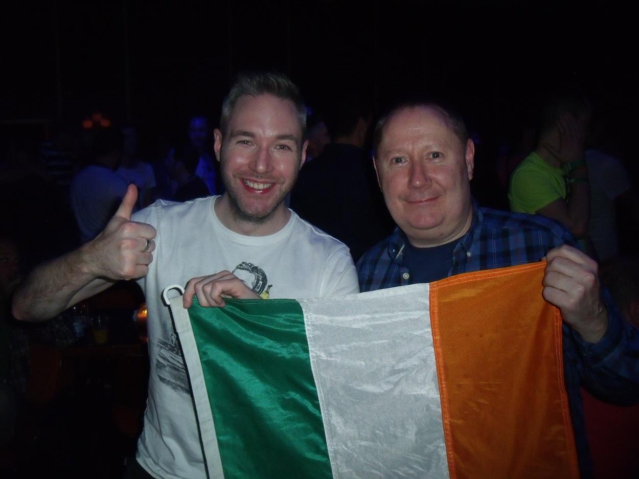 We love the Irish
