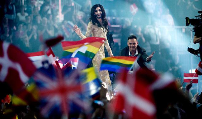 Eurovision 2014 Social Media Statistics. Photo : MoscowTimes.com