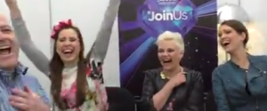 Eurovision Ireland Meets Elaiza at Eurovision. Photo : Eurovision Ireland