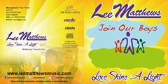 Love Shine a Light - Charity Single by Lee Matthews. Photo : Join Our Boys
