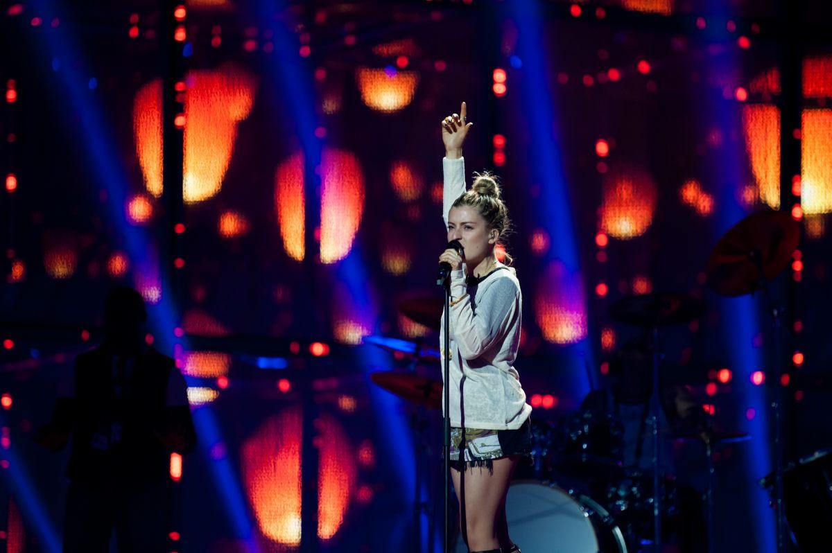 Molly First Eurovision Rehearsal. Photo : Sander Hesterman (EBU)
