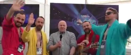 Pollapönk In Interview. Photo : Eurovision Ireland