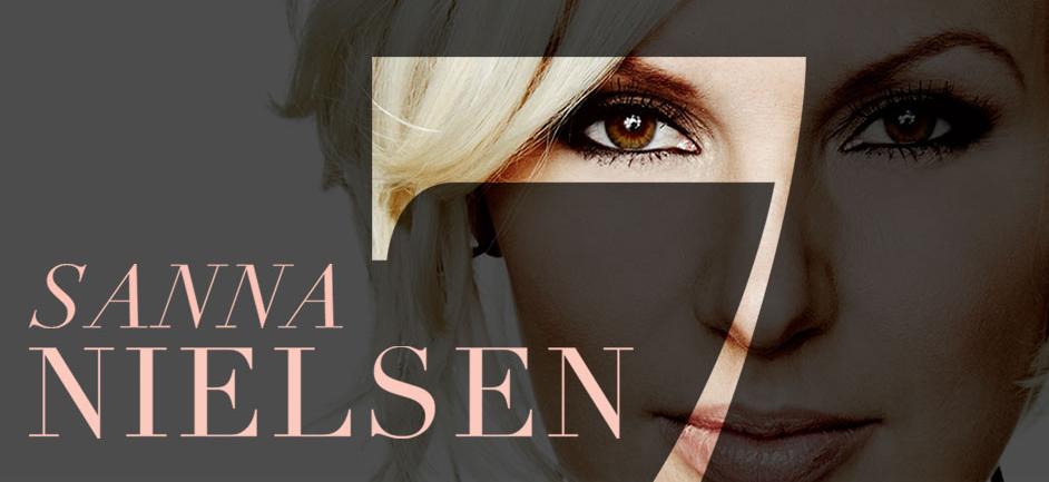 Sanna Nielsen's New Album '7'. Photo : Sanna Nielsen Website