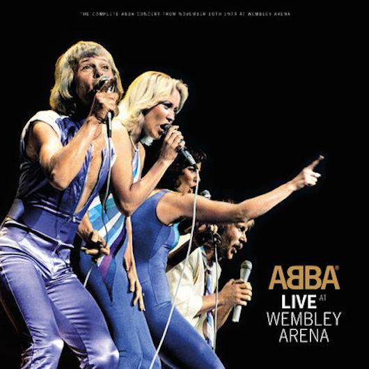 ABBA - Live Wembley Concert Recording. Photo : uDiscover