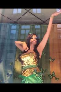 Conchita in Stockholm. Photo : Conchita Wurst Fan Page