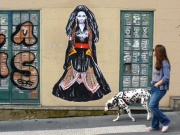 Conchita Wurst Street Art in Paris. Photo : Suriani Flickr