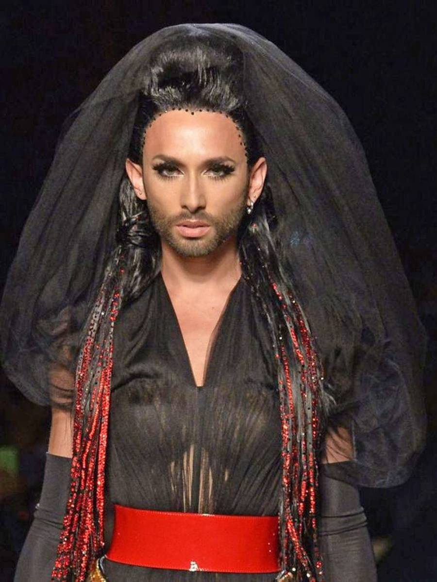 Conchita Wurst, Jean Paul Gaultier and 360 Degrees