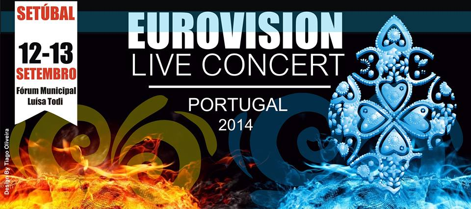 Eurovision Live Concert- Portugal. Photo : Eurovision Live Concert- Portugal Facebook