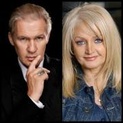 Johnny Logan and Bonnie Tyler. Photo : Wikimedia