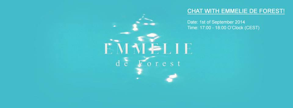 Chat With Emmelie de Forest. Photo : Emmelie de Forest Facebook