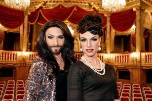Conchita and Tamara. Photo : Facebook