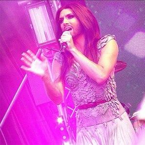 Conchita Wurst Amsterdam Closing Concert. Photo :  Conchita Wurst Official Russian Fans Community's photo.