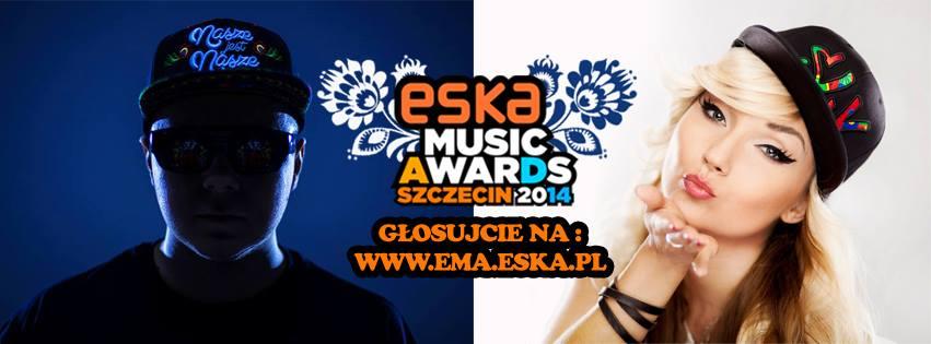 Donatan and Cleo - ESKA Awards. Photo : Donatan Facebook