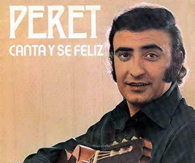 Eurovision 1974-Peret-Canta feliz. Photo : www.cadenaser.com