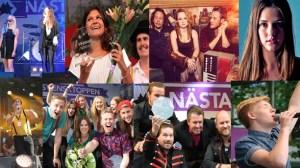 Svensktoppen Nasta 2014. Photo : Swedish Radio