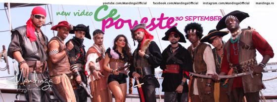Mandinga - 'Ce poveste' with Connect-R. Photo : Mandinga Facebook