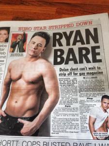Ryan Dolan - 'Bare Essentials'. Photo Daily Star.