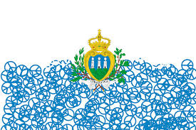 San Marino flag. Photo : Wikipedia