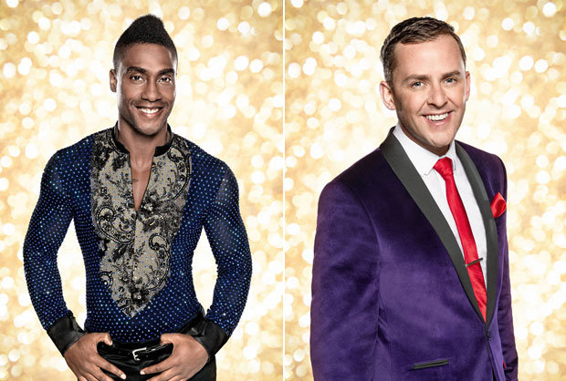 Simon Webbe and Scott Mills Strictly Come Dancing 2014. Photo : BBC