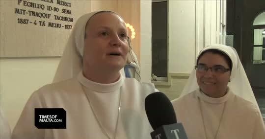 The Singing Nuns from Malta aim for Eurovision 2015. Photo : TimesofMalta