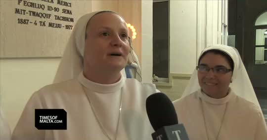 The Singing Nuns from Malta aim for Eurovision 2015. Photo : TimesofMalta