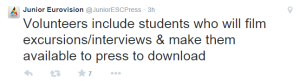 Volunteers Get Interactive at JESC 2014