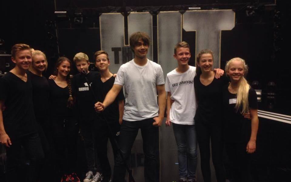 Alexander Rybak - The Hit. Photo : Alexander Rybak Facebook