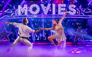 Caroline Flack - Strictly Come Dancing. Caroline Flack, Pasha Kovalev Photo: Guy Levy/BBC