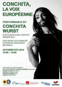 Conchita at European Parliament