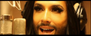 Conchita Wurst - My Lights. Photo : YouTube