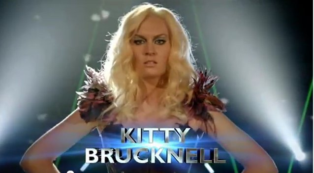 Kitty Brucknell for Eurovision 2015