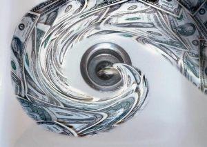 Loss of money - Photo nlpc.org