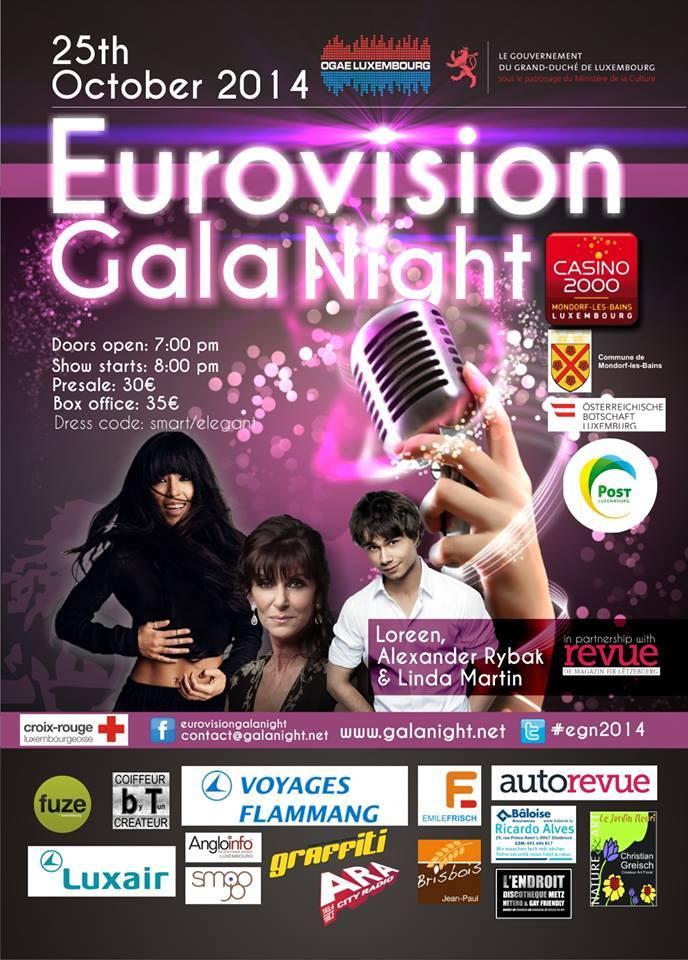 Eurovision Gala Night. Photo OGAE Luxembourg