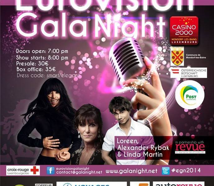 Eurovision Gala Night. Photo OGAE Luxembourg