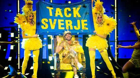 Sean Banan for Melodifestivalen 2015? Sean Banan Foto: Olle Kirchmeier/SVT
