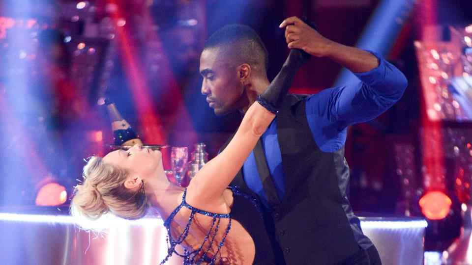 Simon Webbe - Strictly Come Dancing Week 2. Photo : Facebook