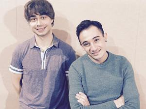 Alexander Rybak  and Franklin. Photo : Alexander Rybak Facebook