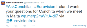 #AskConchita : Photo - Eurovision Ireland