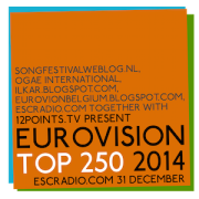 Eurovision Top 250 2014. Photo : 12Points.tv