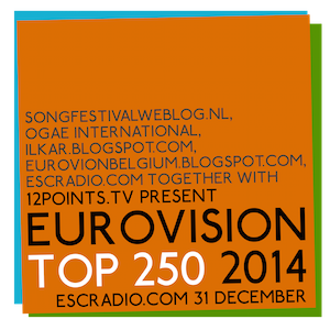 Eurovision Top 250 2014. Photo : 12Points.tv