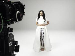 'Heroes' Video. Photo : Conchita Wurst Facebook