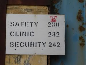 JESC safety signage