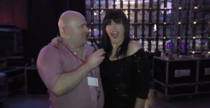 Kaliopi at Skopje Fest November 2014. Photo : Eurovision Ireland