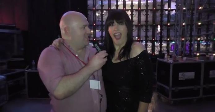Kaliopi at Skopje Fest November 2014. Photo : Eurovision Ireland