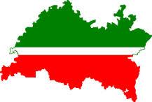 Tatarstan Map-flag