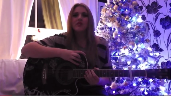 Krystal Mills - Last Christmas. Photo : YouTube