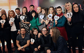 Running Order for Belarus Eurovision 2015 National Final. Photo : Belta.by