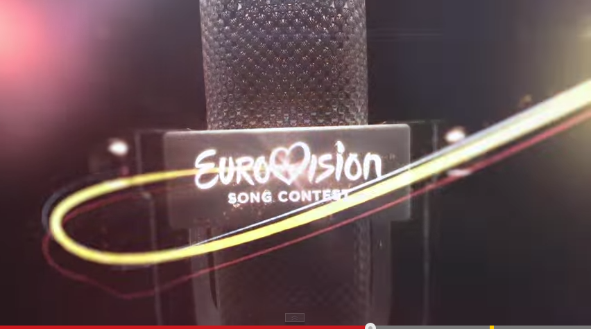 Video Intro for Eurovision. Photo : YouTube/EBU